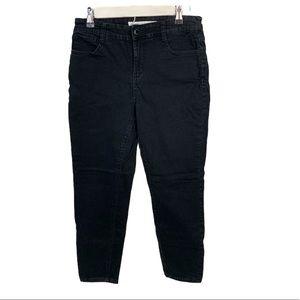 Straight leg Light Black stretch jeans 8P